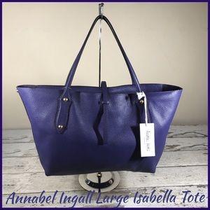 Annabel Ingall Isabella Indigo Tote Bag NWT$465!